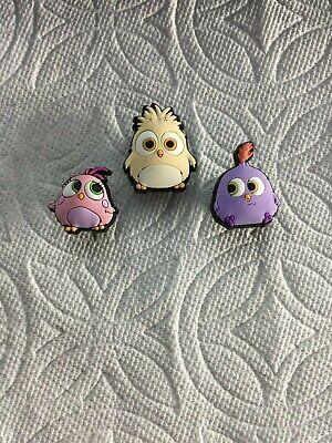 OWL JIBBITZ OWL SHOE CHARMS FITS CROCS OWL W//GEMS JIBBITZ REALISTIC OWL CHARM