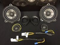 Bmw Select 1-series / 3-series / 6-series / X3 Direct Fit Replacement Speakers