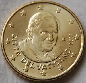 Pièce Neuve De 50 Cent ( Vatican 2012 )