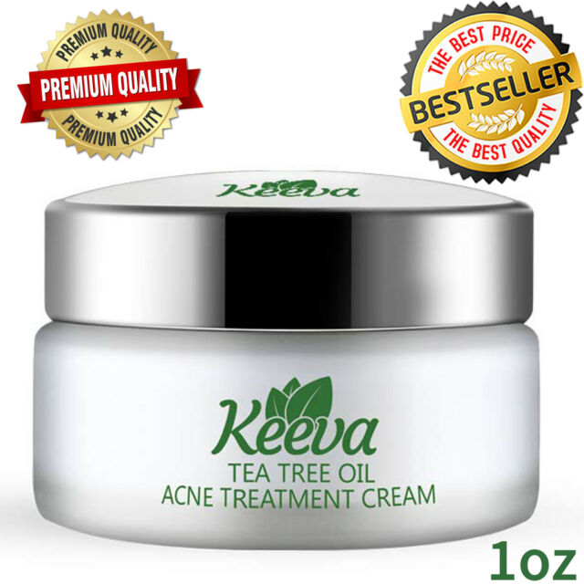 Pure Line Ideal Skin Cream Active Against Acne With Zinc Tea Tree