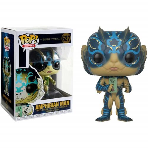 Shape of Water Funko Amphibian Man W// Card Brand New In Box POP Movies