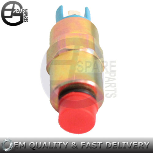 New Fuel Cutoff Injection Solenoid 17//105201 for JCB Backhoe 12V