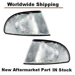 96 97 98 99 AUDI A4 B5 OE FACTORY STYLE EURO REPLACEMENT CORNER LIGHTS