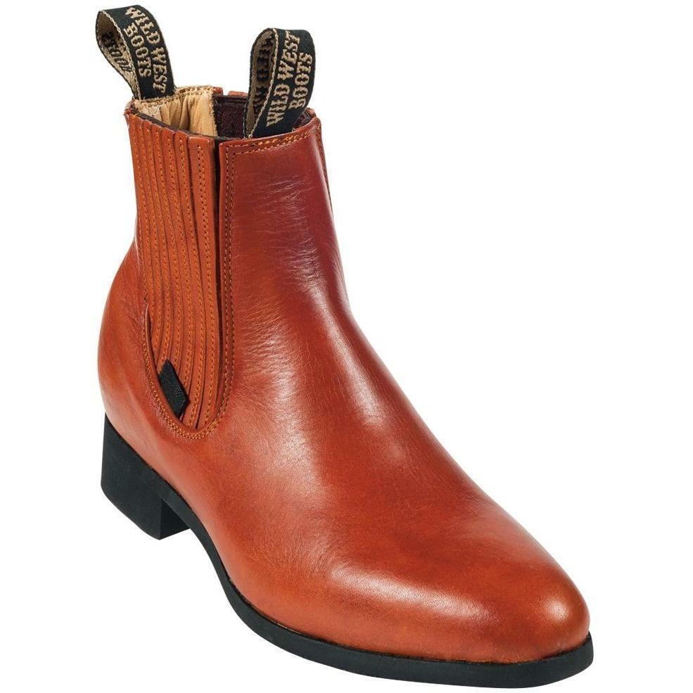 Men's Wild Wild Wild West Botin Charro Short Ankle Stiefel Handcrafted a626c7