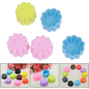 Silicone-Sun-Flower-Muffin-Cookie-Cup-Cake-Egg-Tart-Mold-Chocolate-Pudding-RF-FD