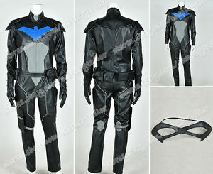 Young Justice Cosplay Nightwing Costume Jumpsuit Outfit ...