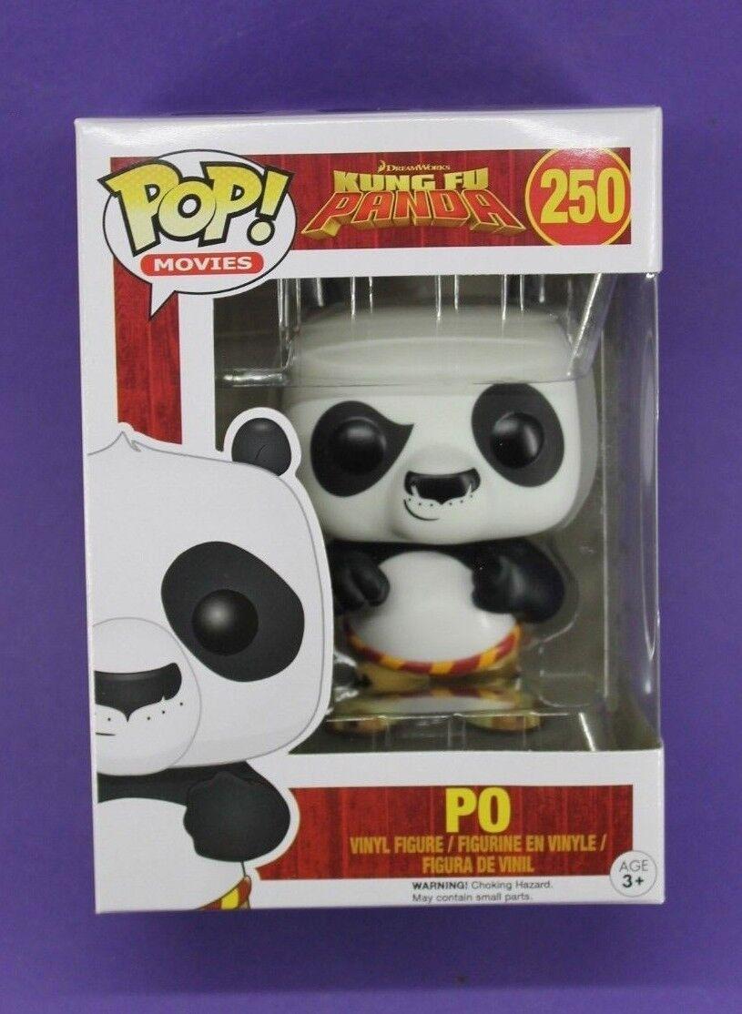 Funko Pop películas Kung Fu Panda  250 Po  abovedado Vinilo Figura  Fast Post