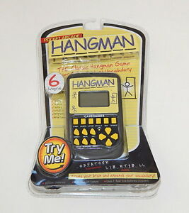 Westminster Pocket Arcade Hangman Sealed Hangman