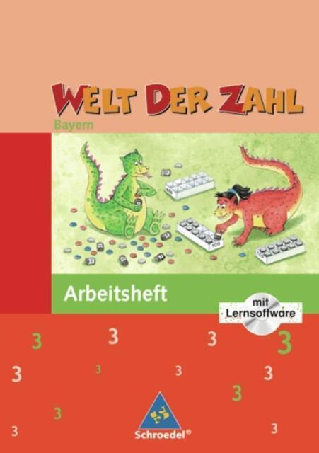 Welt der Zahl - Ausgabe 2007 Bayern: Arbeitsheft 3 mit CD-ROM - Rinkens, ... /4