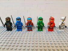 Lego Set//6 MINIFIG HAIR Ninjago Kai Jay Zane Cole Lloyd Sensei Garmadon headgear