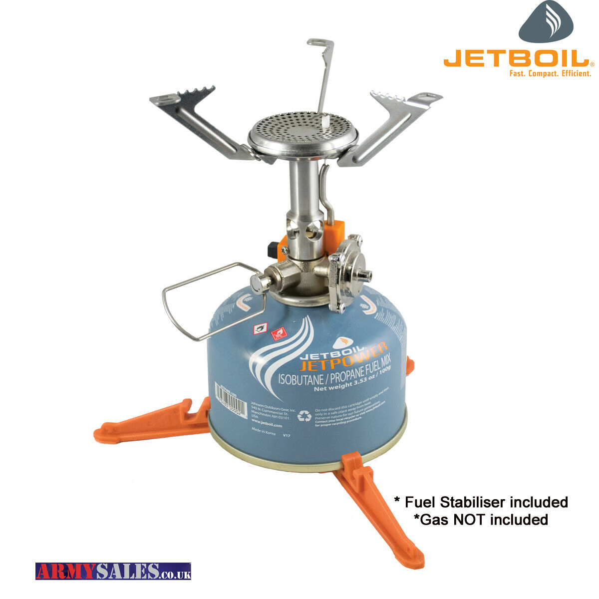 Jetboil MightyMo Compact Stove - Lightweight and Powerful Pocket Rocket Stove