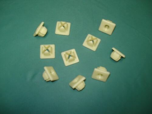 universal plastic nylon license plate inserts 10 screw grommets