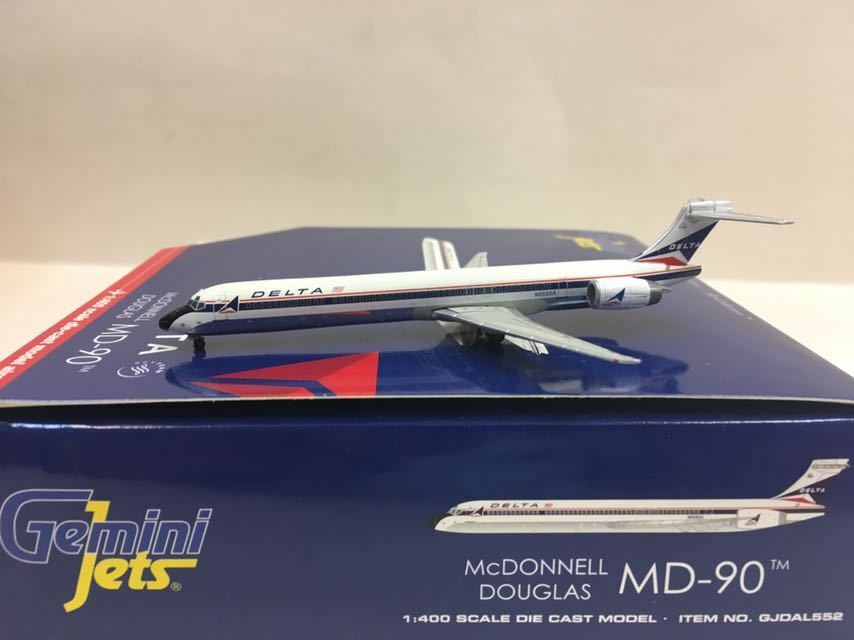 Geminijets 1 400 Delta McDonnell Douglas MD-90 N906DA gjdal 552
