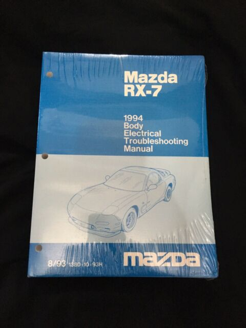 1994 Mazda Rx7 Turbo Factory Electrical Wiring Diagram