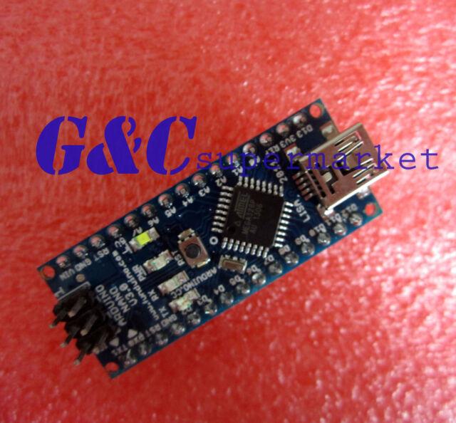 Nano V3.0 Mini USB ATmega328 5V 16M 100% ORIGINAL FTDI FT232RL +USB CABLE
