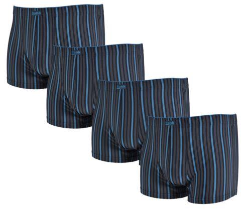 4 Stück Herren Retro Boxershorts Microfaser Baumwolle M L XL XXL Gr 5 6 7 8 9
