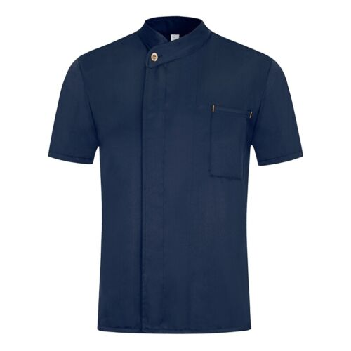 Men Women Chef Workwear Solid Color Coat Kitchen Pastry Uniform Hotel Clothes