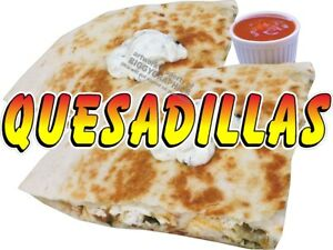 QUESADILLAS-VINYL-DECAL-CHOOSE-SIZE-CONCESSION-STAND-BOARDWALK