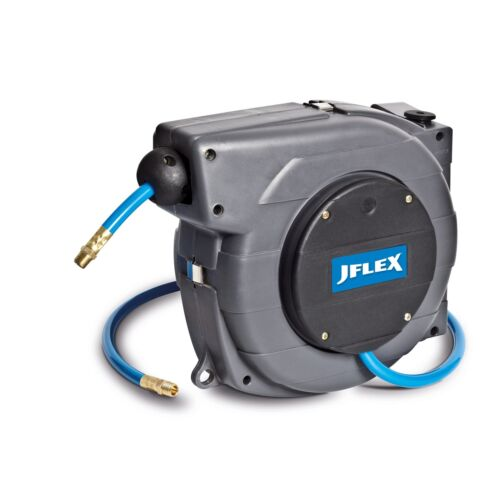 JFLEX RETRACTABLE AIR HOSE /& REEL 9mx8mm Auto Lock//Rewind 886089 Aust Brand
