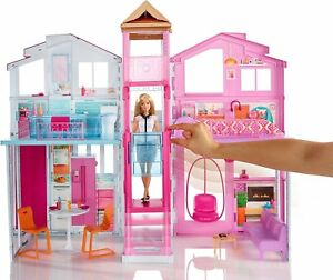 La Casa Vacanza Glam di Barbie Chf54 Mattel