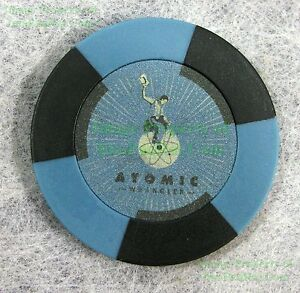 FALLOUT-New-Vegas-Collector-039-s-Edition-Atomic-Wrangler-Casino-Chip-REPLACE-LOST-1