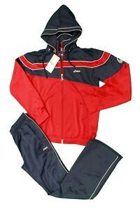 a2206dd857 Caricamento dell'immagine in corso Completo-tuta-da-bambino-rosso-blu-Asics -sport-