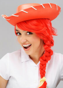 Kids EVA Red Cowboy Hat Toy Story Fancy Dress Costume Accessory by Henbrandt
