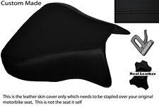 BLACK STITCH  CUSTOM FITS APRILIA RSV 01-03 TUONO 04-05 1000 FRONT SEAT COVER