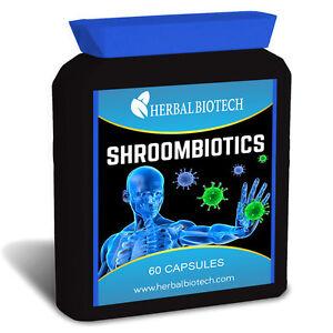 HerbalBioTech-ShroomBiotics-Capsules-Immune-System-Booster-300