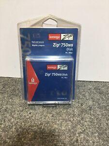 Iomega-Zip-Disk-750MB-for-PC-amp-MAC-New-Sealed