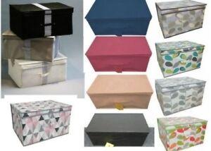 Rangement Maison Bureau Boite Buffet Avec Bouchons Feuille Ou Diamant Grand Ebay