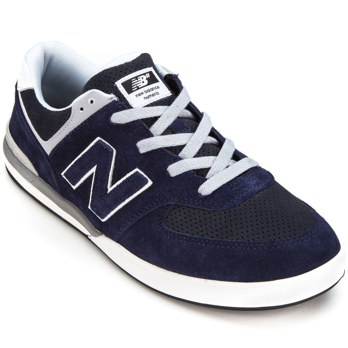 New Balance  Logan Suede  navy grey shoes