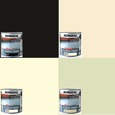 Ronseal Diamond Hard Floor Paint 2 5l Varioust Colours For