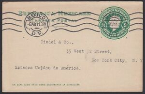 MEXICO, 1911. Post Card H&G 121, M.C. - New York
