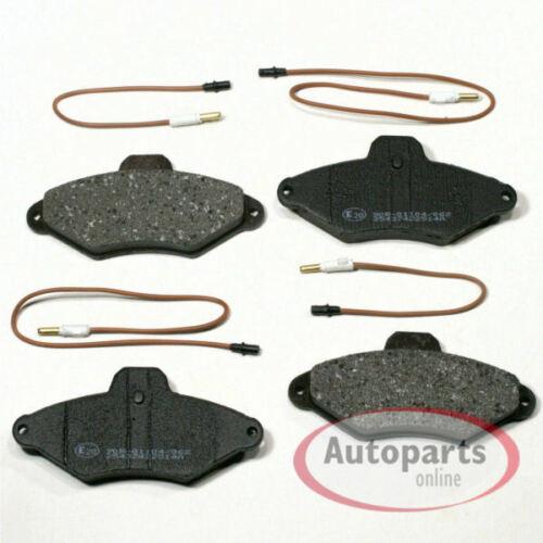 Citroen Xantia Bremsscheiben Bremsen Set komplett Bremsbeläge für vorne hinten