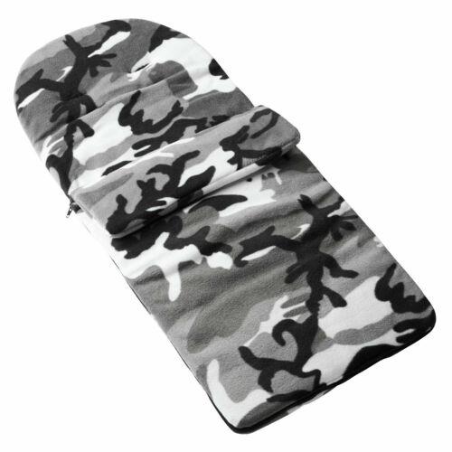 Saco polar compatible con Baby Jogger City Mini Gt-Gris Camuflaje