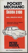 SKODA 100 100L 110L & 110LS ( 1964 - 1976 ) OWNERS REPAIR HANDBOOK