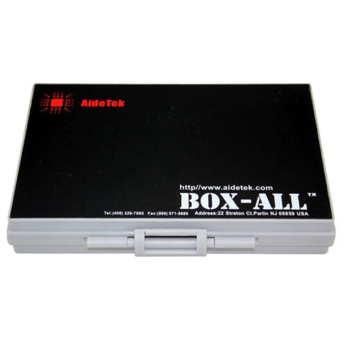 4pcs AideTek SMD SMT Resistor Capacitor 1206 0805 0603 72 Box Organizer Storage