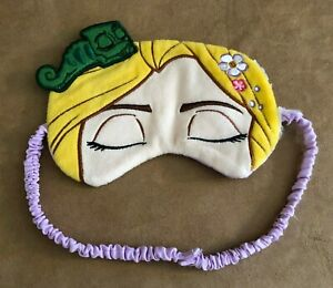 Sleep Eye Mask Disney Rapunzel Tangled Eyes Lizard Plush Adult Child Princess Ebay