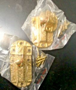 2-Victorian-Latch-Restoration-New-Old-Stock-Hardware-Reproduction-Cast-Brass