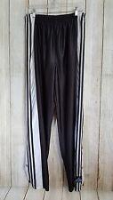VTG ADIDAS Snap Breakaway Track Pants Soccer Medium Black Basketball USA Flag