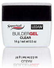 SuperNail LED/UV Builder Gel Clear - .5oz (51600)