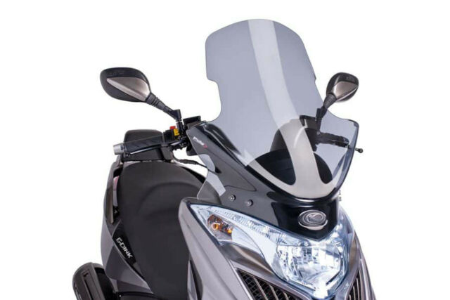 PUIG V-TECH LINE TOURING SCREEN KYMCO G-DINK 300i 12-18 LIGHT SMOKE