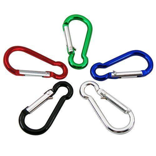 5 ou 10 55mm camping mousqueton clip crochet sports multi Useage porte-clés vendeur britannique