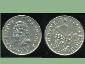 Appris Nouvelle Caledonie 10 Francs 1972 ( Bis )
