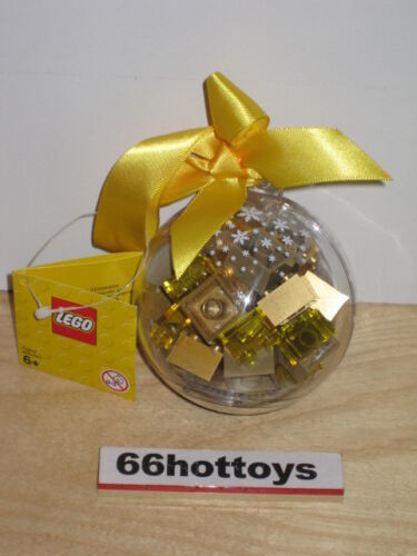 LEGO Holiday Ornament with Gold Bricks 853345 NEW