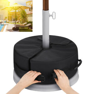 18-034-Round-Umbrella-Base-Stand-Outdoor-Patio-Waterproof-Weight-Sand-Bag-88lbs