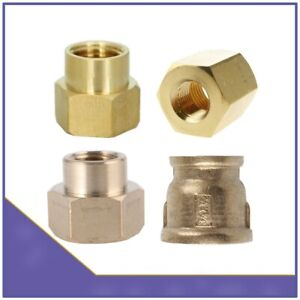 Brass-BSP-Female-to-Female-Reducing-Socket-Pipe-Connector-Water-VARIOUS-SIZES