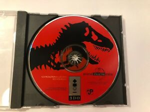 Jurassic-Park-3DO-1994-Promo-Disc-Video-Game-Disc-Only-Tested-Interactive