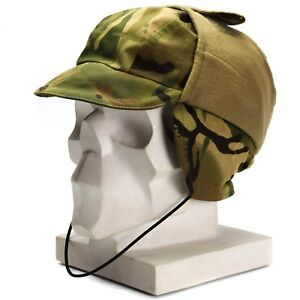 6bd74dd16 Details about Genuine British Army MTP Camo Waterproof Gore Tex cap Lined  Cold Weather hat New
